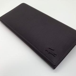 ラコステ(LACOSTE)のLACOSTE  ラコステ 長財布 シャンタコ ボルドー 新品未使用 人気(長財布)