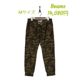 ビームス(BEAMS)の新品 Beams Pants ビームス カモ柄 パンツ(ワークパンツ/カーゴパンツ)