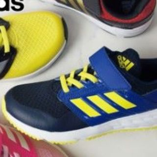 adidas - 【新品】20cm adidas FAITO ELK ネイビー