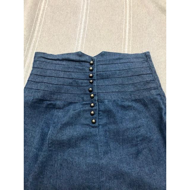 LIP SERVICE(リップサービス)のSALE❗️オススメ☆lip serviceデニムスカート レディースのスカート(ミニスカート)の商品写真