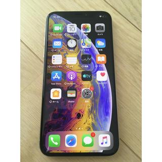 iPhone - SIMロック解除 iPhone Xs Silver 256 GB  本体のみ