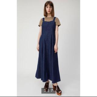 moussy - moussy デニムロングドレス