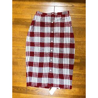 snidel - snidel チェックタイトスカート