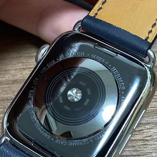 エルメス(Hermes)のApple Watch Series4 HERMES 44mm ブルーインディゴ(腕時計(デジタル))