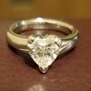 ハートシェイプダイヤモンド1.122カラット