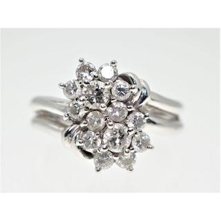 【1.00Cts】PT900 ダイヤモンドリング【サイズ直し無料】(リング(指輪))