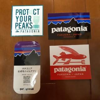 patagonia - パタゴニア ステッカー 福岡