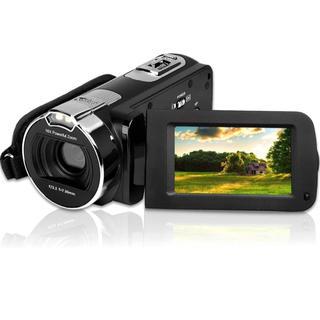 ビデオカメラ ポータブルビデオカメラ HD デジタルズーム