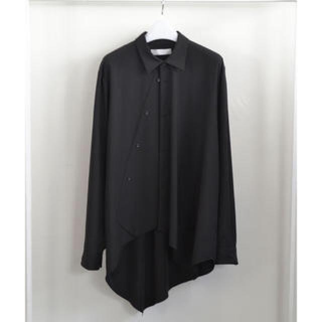 LAD MUSICIAN(ラッドミュージシャン)のethosens 17aw 段違いシャツ メンズのトップス(シャツ)の商品写真
