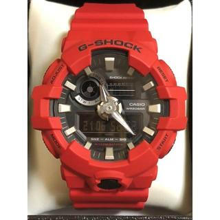 G-SHOCK - CASIO G-SHOCK レッド色 5522※JA