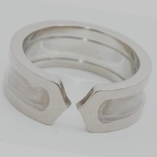 カルティエ C2 スモールリング 中古(リング(指輪))