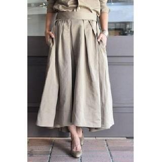 マディソンブルー(MADISONBLUE)の新品 マディソンブルー タックボリュームスカート 01(ロングスカート)