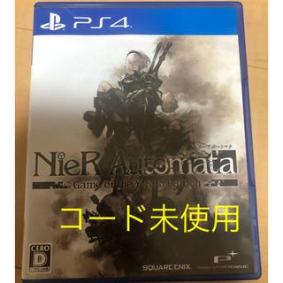 PlayStation4 - コード未使用 ニーアオートマタ