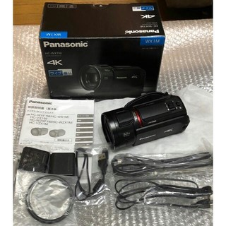 Panasonic - パナソニック 4K ビデオカメラ 64GB ワイプ撮り HC-WX1M-K