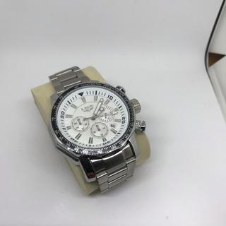 海外人気 高級ブランドLIGE クロノグラフクラウン!クォーツ式腕時計9871