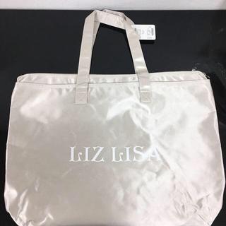 LIZ LISA ロゴトートバッグ ベージュ 新品 未使用 送料込み