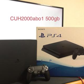PlayStation4 - cuh-2000a bo1 ps4slimモデル本体500gb