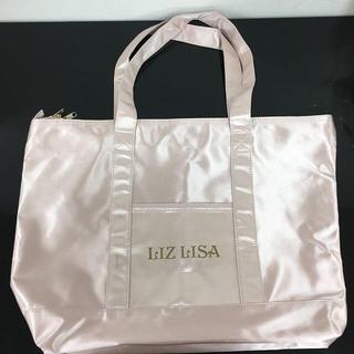 LIZ LISA ロゴトートバッグ ピンク 新品 未使用 送料込み
