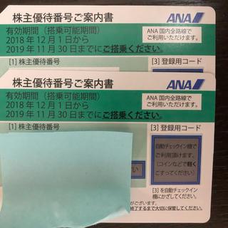 ANA(全日本空輸) - ANA 全日空 株主優待 2枚