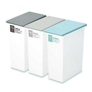 【大人気】ネオカラー分別 ゴミ箱☆ 20L 3個セット