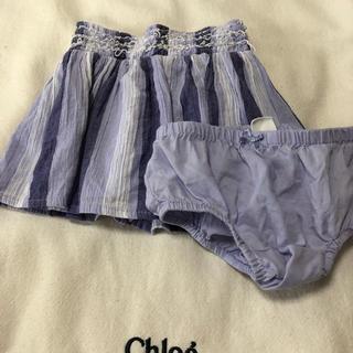 ベビーギャップ(babyGAP)のスカート おむつカバー付き 80(スカート)