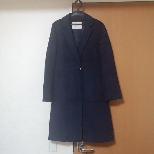 BABYLONE(バビロン)のBABYLONE saloon  MSビーバーチェスターコート レディースのジャケット/アウター(チェスターコート)の商品写真