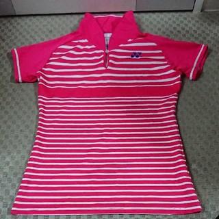 ヨネックス(YONEX)のヨネックス テニスウェア ゲームシャツ 中古良品(ウェア)