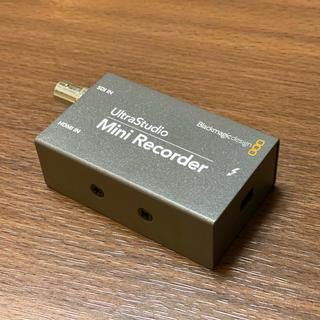 Blackmagic Design 小型レコーダー