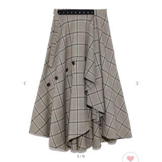 FRAY I.D - ❤️完売品❤️ フレイアイディー チェックツィードスカート 緑 緑色 ♡