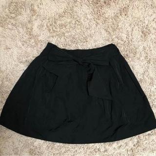 トランテアンソンドゥモード(31 Sons de mode)の31 Sons de mode スカート ブラック(ミニスカート)