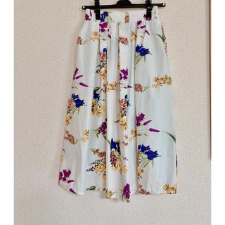 ✩︎値下げ✩︎Re:EDIT フレアスカート(ひざ丈スカート)