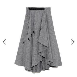 FRAY I.D - ❤️完売品❤️ フレイアイディー チェックツィードスカート 黒 白 ♡