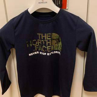ザノースフェイス(THE NORTH FACE)の新品THE NORTH FACEキッズロングスリーブTEE(Tシャツ/カットソー)