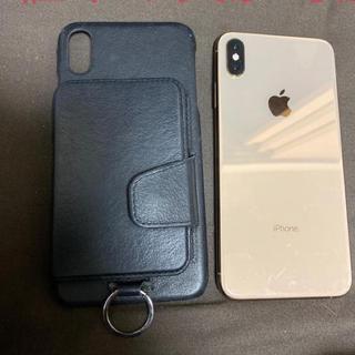 Apple - 特典 iPhone xs max  256 ゴールド sim フリー 本体