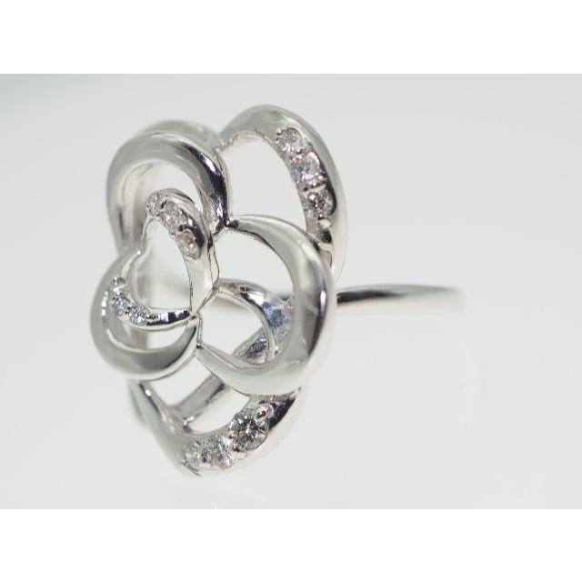 【0.250Cts】K18WGダイヤモンドリング【サイズ直し無料】 レディースのアクセサリー(リング(指輪))の商品写真