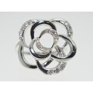 【0.250Cts】K18WGダイヤモンドリング【サイズ直し無料】(リング(指輪))