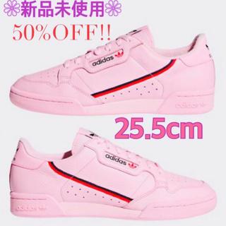 adidas - 新品 アディダス コンチネンタル80 レディース メンズ スニーカー 靴 ピンク