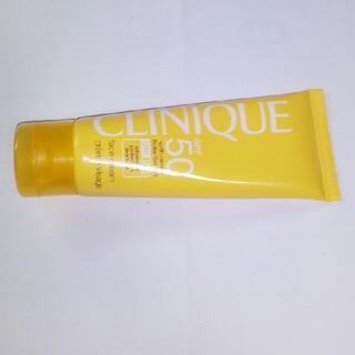 クリニーク(CLINIQUE)のクリニーク・SPF50フェースクリーム(顔用日焼け止め)(日焼け止め/サンオイル)
