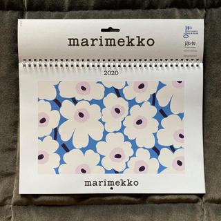 希少●マリメッコ●フィンランド限定 壁掛カレンダー2020