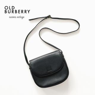 BURBERRY - 良品‼︎ブラックカラー‼︎◆オールドバーバリーころんと可愛いヴィンテージバッグ◆