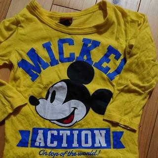 ベビードール(BABYDOLL)のベビド☆ミッキーコラボ長袖Tシャツ(Tシャツ/カットソー)