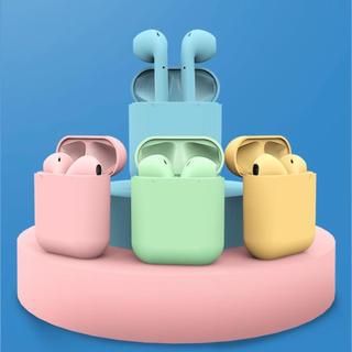 青  ワイヤレスイヤホン Bluetoothイヤホン