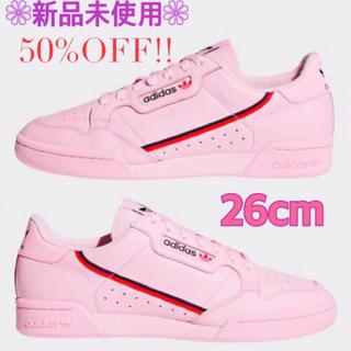 adidas - 新品 アディダス コンチネンタル80 レディース メンズ スニーカー 26 靴