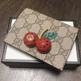 Gucci - GUCCIチェリー ミニ財布