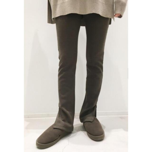 L'Appartement DEUXIEME CLASSE(アパルトモンドゥーズィエムクラス)の新品未使用タグ付 L'Appartement Wool Zip Leggings レディースのレッグウェア(レギンス/スパッツ)の商品写真