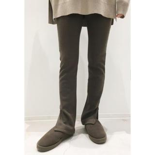 L'Appartement DEUXIEME CLASSE - 新品未使用タグ付 L'Appartement Wool Zip Leggings