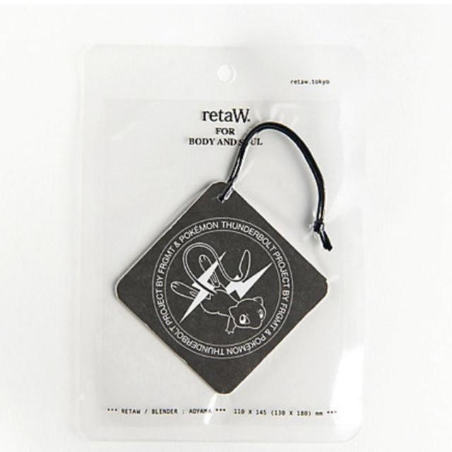 FRAGMENT(フラグメント)の(F) THUNDERBOLTPROJECT BY FRAGMT&POKEMON エンタメ/ホビーのおもちゃ/ぬいぐるみ(キャラクターグッズ)の商品写真