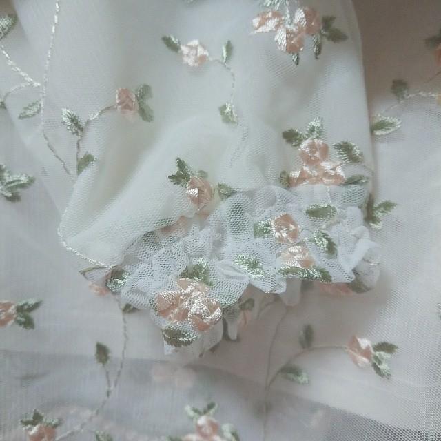 mysty woman(ミスティウーマン)の花柄刺繍トップス レディースのトップス(シャツ/ブラウス(長袖/七分))の商品写真