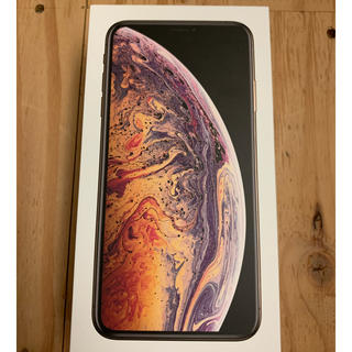 Apple - iPhone XS MAX GOLD 256GB SIMフリー