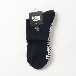 オニツカタイガー(Onitsuka Tiger)の【新品未使用‼️】オニツカタイガー short socks(ソックス)